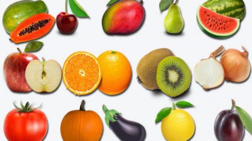 tên hoa quả tiếng trung